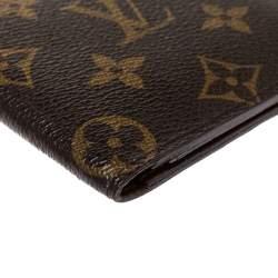 Louis Vuitton Monogram Canvas Passport Holder