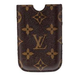 Louis Vuitton Brown Monogram Coated Canvas iPhone Case