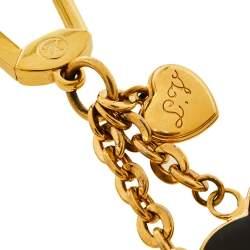 ميدلية مفاتيح/ حلية حقيبة لوي فيتون بوم دامور رايورس كور هارت