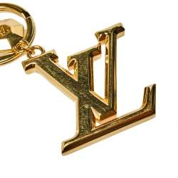 Louis Vuitton Facettes Gold Tone Bag Charm and Key Holder