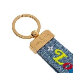 Louis Vuitton New Wave Dragonne Denim Key Ring