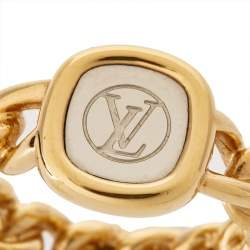 Louis Vuitton ID Two Tone Ring S