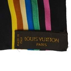 Louis Vuitton Black Monogram Silk Bandeau