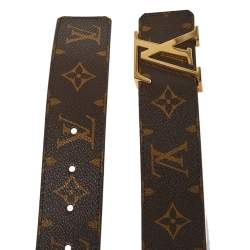 Louis Vuitton Monogram Canvas LV Initiales Belt 85 CM