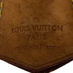 Louis Vuitton Tan Leather And Gold Tone Metal Lock & Key Set