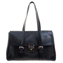Louis Vuitton Black Epi Leather Segur MM Bag