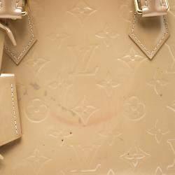Louis Vuitton Beige Monogram Vernis Alma PM Bag