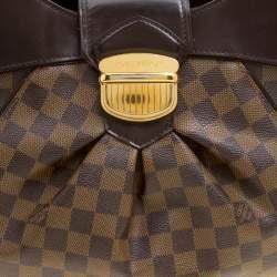 Louis Vuitton Damier Ebene Canvas Sistina MM Bag