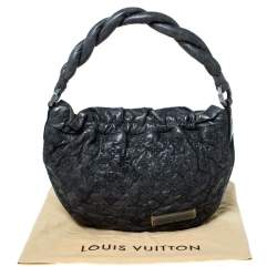Louis Vuitton Anthracite Monogram Leather  Limited Edition Olympe Nimbus PM Bag