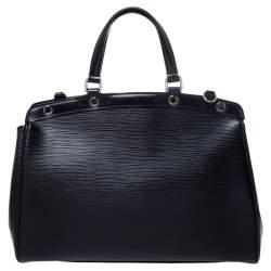 حقيبة لوي فيتون بري جلد أيبي سوداء MM