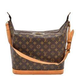Louis Vuitton Monogram Canvas Sharon Stone Amfar Three Shoulder Bag