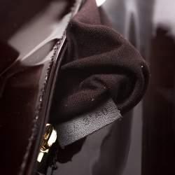 Louis Vuitton Amarante Vernis Sobe Clutch