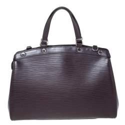 Louis Vuitton Quetsche Epi Leather Brea MM Bag