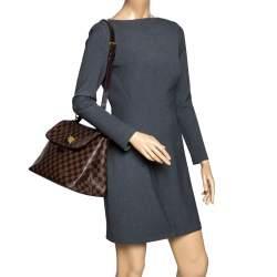 Louis Vuitton Damier Ebene Canvas Bergamo MM Bag