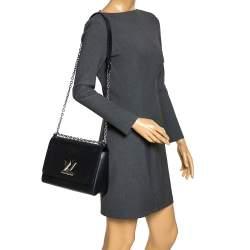 Louis Vuitton Black Epi Leather Twist GM Bag