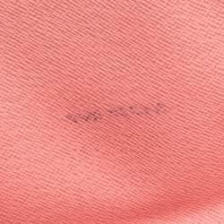 Louis Vuitton Pink Chain Flower Epi Leather Twist Wallet on Chain
