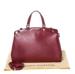 Louis Vuitton Rubis Epi Leather Brea MM Bag
