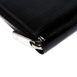 Louis Vuitton Black Electric Epi Leather Zippy Wallet