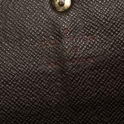 Louis Vuitton Damier Ebene Canvas Sarah Wallet