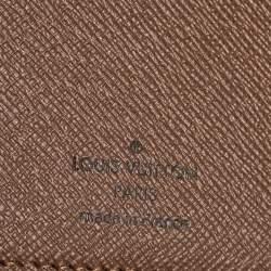 """محفظة لوي فيتون """"برازا"""" كانفاس مونوغرامي"""