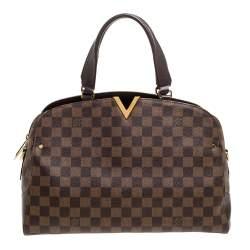 Louis Vuitton Damier Ebene Canvas Kensington Bowling Bag