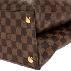 Louis Vuitton Damier Ebene Canvas Brompton Bag