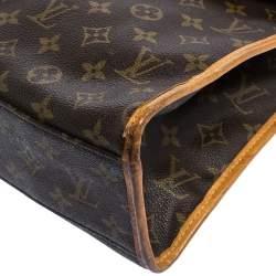 Louis Vuitton Monogram Canvas Vintage Beverly Briefcase GM Bag