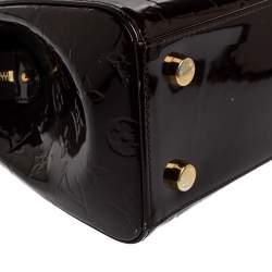 Louis Vuitton Amarante Monogram Vernis Brea MM Bag
