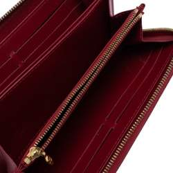Louis Vuitton Pomme D'amour Monogram Vernis Zippy Wallet