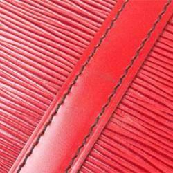 Louis Vuitton Red Epi Leather Porte-Documents Voyage Briefcase