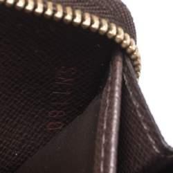 Louis Vuitton Damier Ebene Canvas Zippy Coin Purse