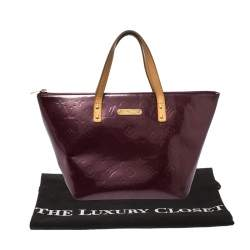 Louis Vuitton Rouge Fauviste Monogram Vernis Bellevue PM Bag