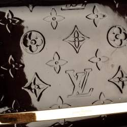 Louis Vuitton Amarante Monogram Vernis Ana Clutch Bag