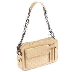 Louis Vuitton Gold Shine Monogram Mini Lin McKenna Bag