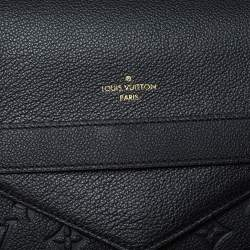 Louis Vuitton Black Monogram Empreinte Leather Trocadero Bag