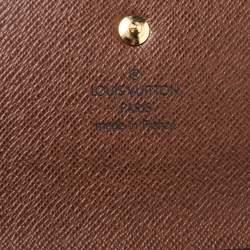 Louis Vuitton Monogram Canvas Sarah Continental Wallet