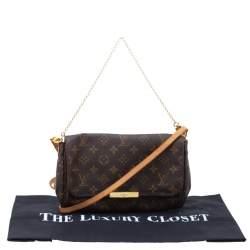 Louis Vuitton Monogram Canvas Favorite MM Crossbody Bag