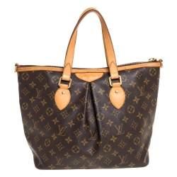 Louis Vuitton Monogram Canvas and Leather Palermo PM Bag