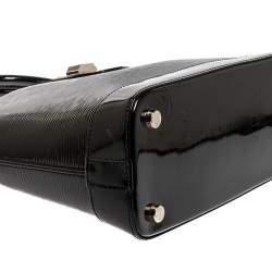 Louis Vuitton Black Electric Epi Leather Mirabeau PM Bag