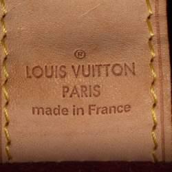 Louis Vuitton White Multicolor Monogram Canvas Judy MM Bag