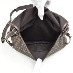 Louis Vuitton Monogram Mini Lin Canvas Saumur 30 Bag