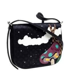 Louis Vuitton Black Monogram Limited Edition Patchwork Conte de Fees Musette Bag