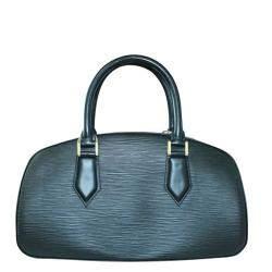 Louis Vuitton Black Epi Leather Jasmin Bag