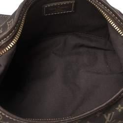 Louis Vuitton Ebene Mini Lin Canvas Manon PM Bag