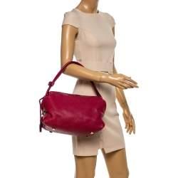 Louis Vuitton Grenat Mahina Leather Galatea PM Bag