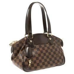 Louis Vuitton Damier Ebene Canvas Verona PM Bag