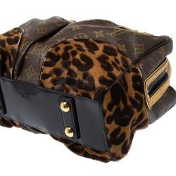 Louis Vuitton Monogram Leopard Limited Edition Adele Bag
