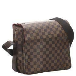 Louis Vuitton Damier Ebene Canvas Naviglio Bag