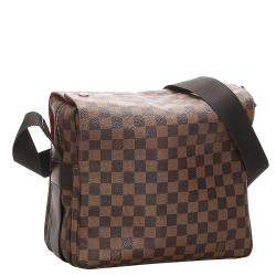 Louis Vuitton Damiera Ebene Canvas Naviglio Bag