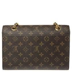 Louis Vuitton Black Monogram Canvas Victoire Bag